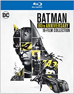 Batman: 80th Anniversary 18-Film Collection Blu-ray