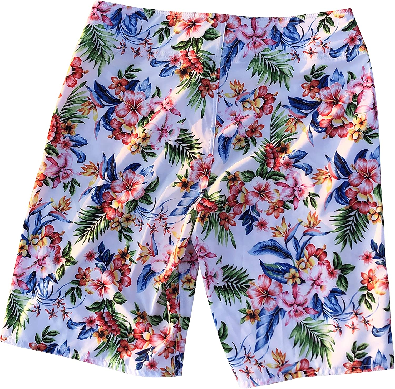 CIRE Aloha 4-Way Stretch Men's Longer Length Boardshort