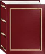 Pioneer Photo Albums A4-100 Burgundy Red Photo Album, 100 Pockets 4