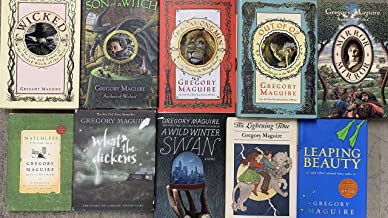 Gregory Maguire Fairy Tale and Wicked Years Novel Collection 10 Book Set