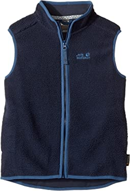 Jack Wolfskin Kids - Black Bear Vest (Infant/Toddler/Little Kids/Big Kids)