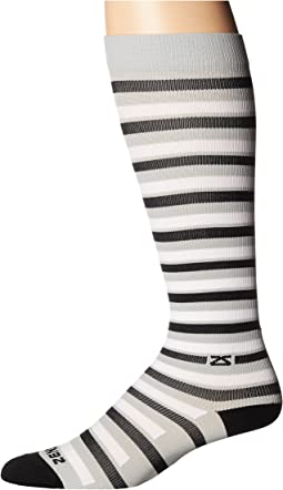 Zensah - Fresh Legs Even Stripes Compression Socks