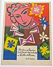 Henri Matisse Poster Madame de Pompadour 13