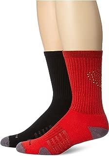 New Balance Unisex 2 Pack Crew Core Performance Socks
