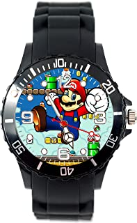 TAPORT Mario Quartz Watch Silicone Band + Spare Battery + Gift Bag