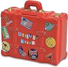 Sparschwein Urlaub 2 Koffer Spardose Urlaubskasse Sparbüchse Reisekasse Sparbox