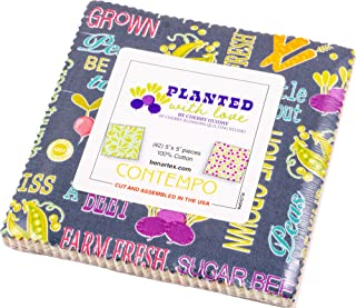 Cherry Guidry Planted with Love 5X5 Pack 42 5-inch Squares Charm Pack Benartex