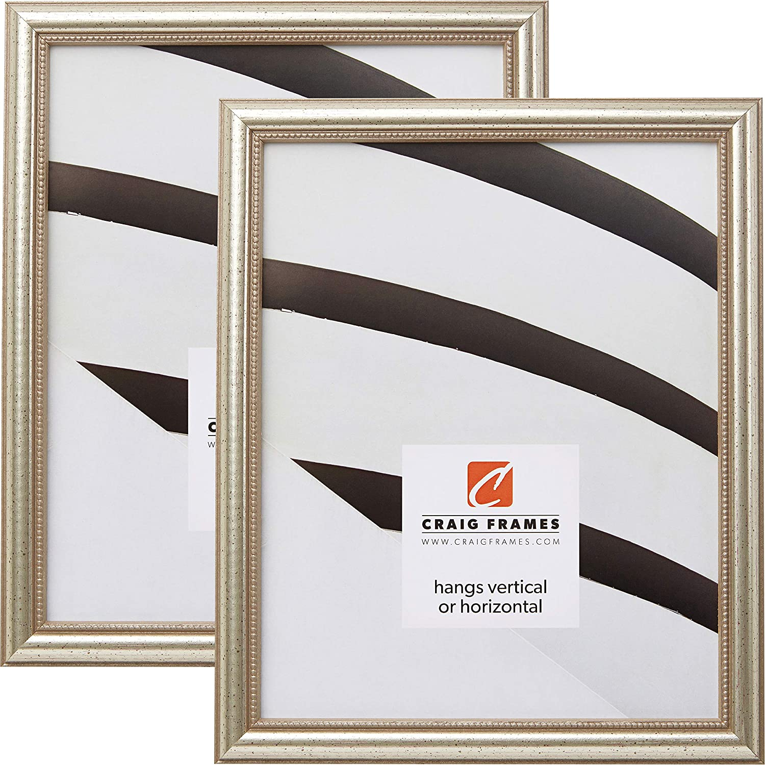 Ranking TOP4 Craig Frames 81405100 24 x 36 Frame Distressed 25% OFF Picture Inch Sil