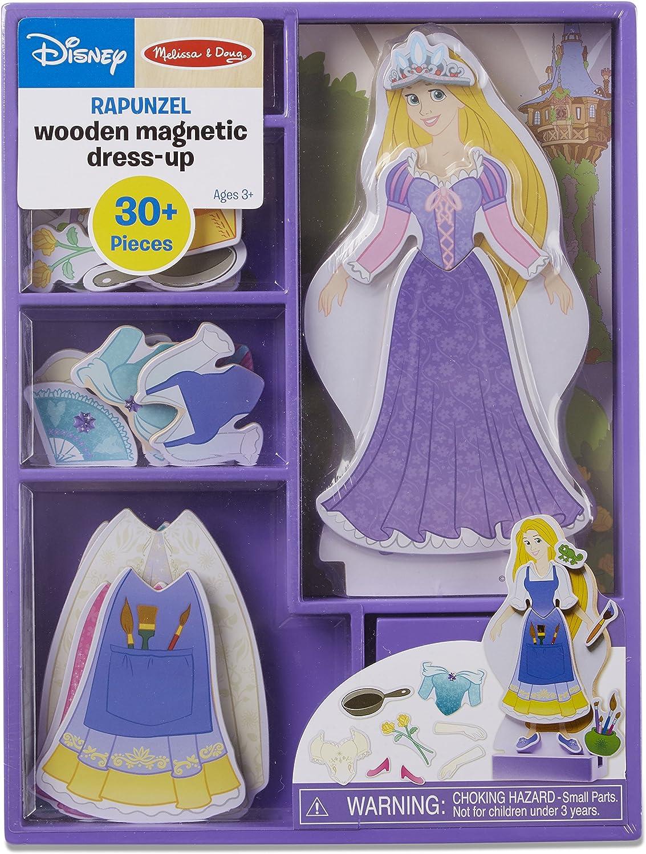 Rapunzel Wooden Magnetic DressUp Play Set