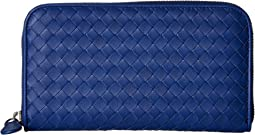 Bottega Veneta - Intrecciato Zip Around Wallet