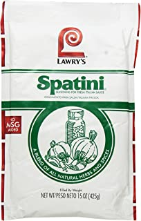 Spatini Spaghetti Sauce and Seasoning Mix, 15-Ounce Packages (Pack of 4)