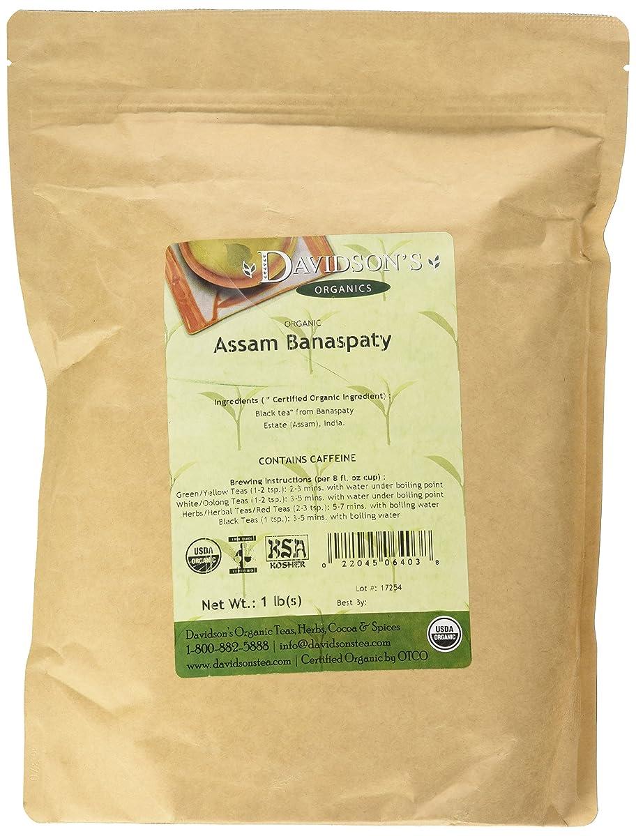 Davidson's Tea Bulk, Organic Assam Banaspaty Estate Tea 1 Pound Bag
