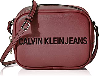 SCULPTED CAMERA BAG Women's Cross-Body Bag, Purple (Beet Red), 8x12x17 centimeters (B x H x T)