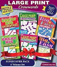 KAPPA Super Saver LARGE PRINT Crosswords Puzzle Pack-Set of 6 Full Size Books PDF