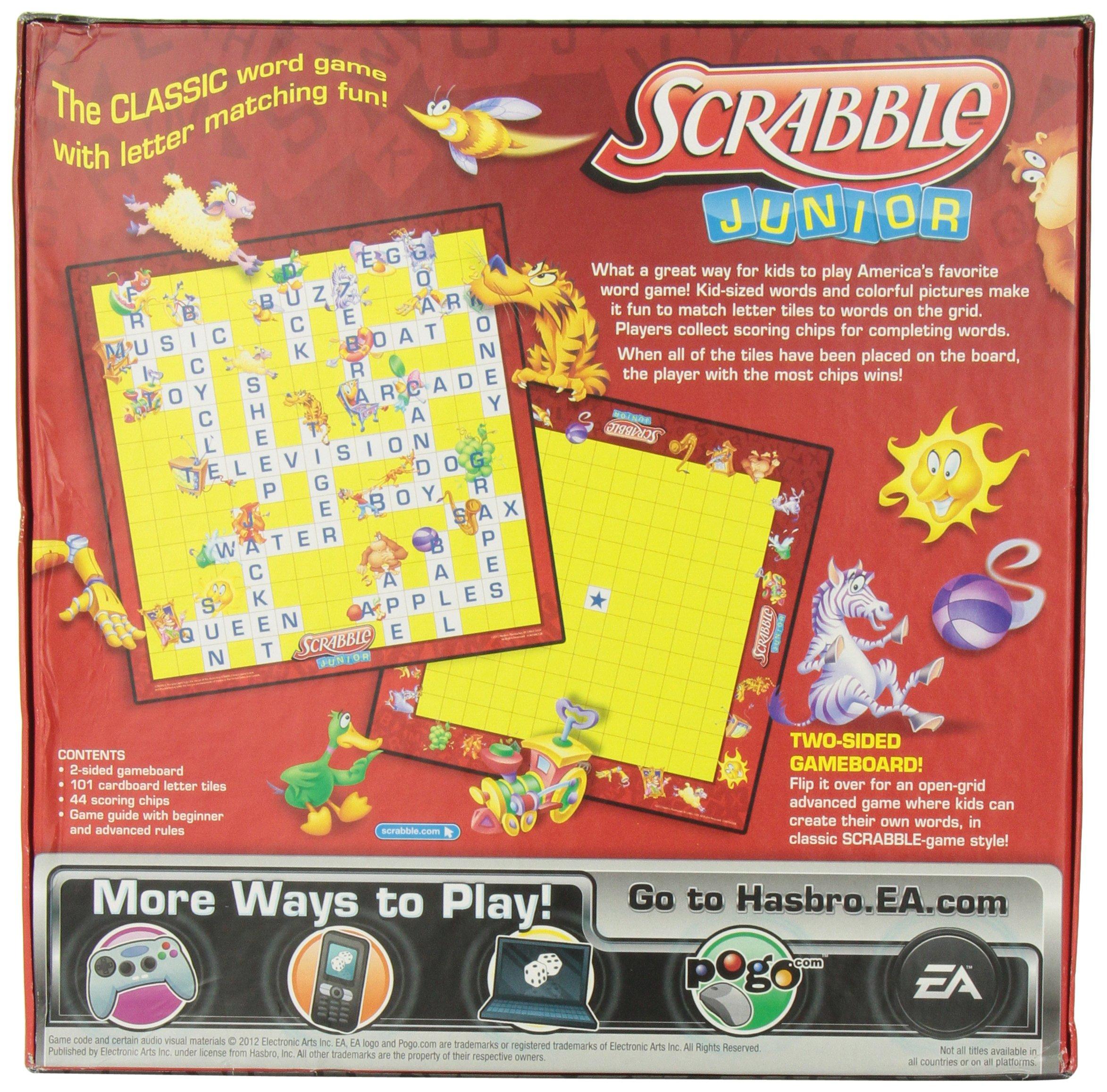 Scrabble Junior by Hasbro: Amazon.es: Juguetes y juegos