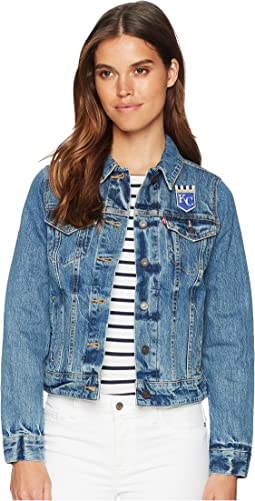 Levi's® Womens Kansas City Royals Denim Trucker Jacket