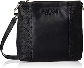 Guess Womens Cross-Body Handbag, Black - SG766973