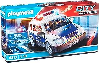 Playmobil City Action 6873 Politiewagen met Licht- en Geluidseffecten, Vanaf 5 Jaar