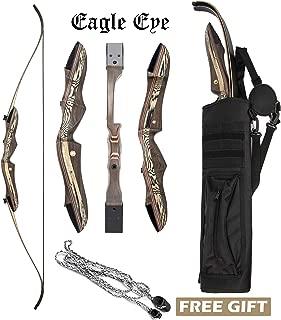 JEKOSEN 2019 Eagle Eye Wooden Takedown Archery Recurve Bow 62