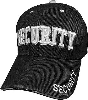 Security Hat Baseball Cap