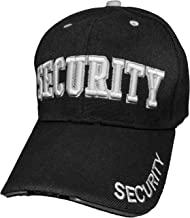 Black Duck Deals High Definition Embroidery Service Baseball Caps (Security)