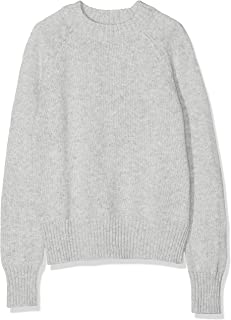 Amazon Brand - Meraki Women's Cotton-Blend Boxy Crew Neck Sweater