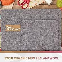 Quilting Mat New Zealand Organic Wool Twin Pack - 24