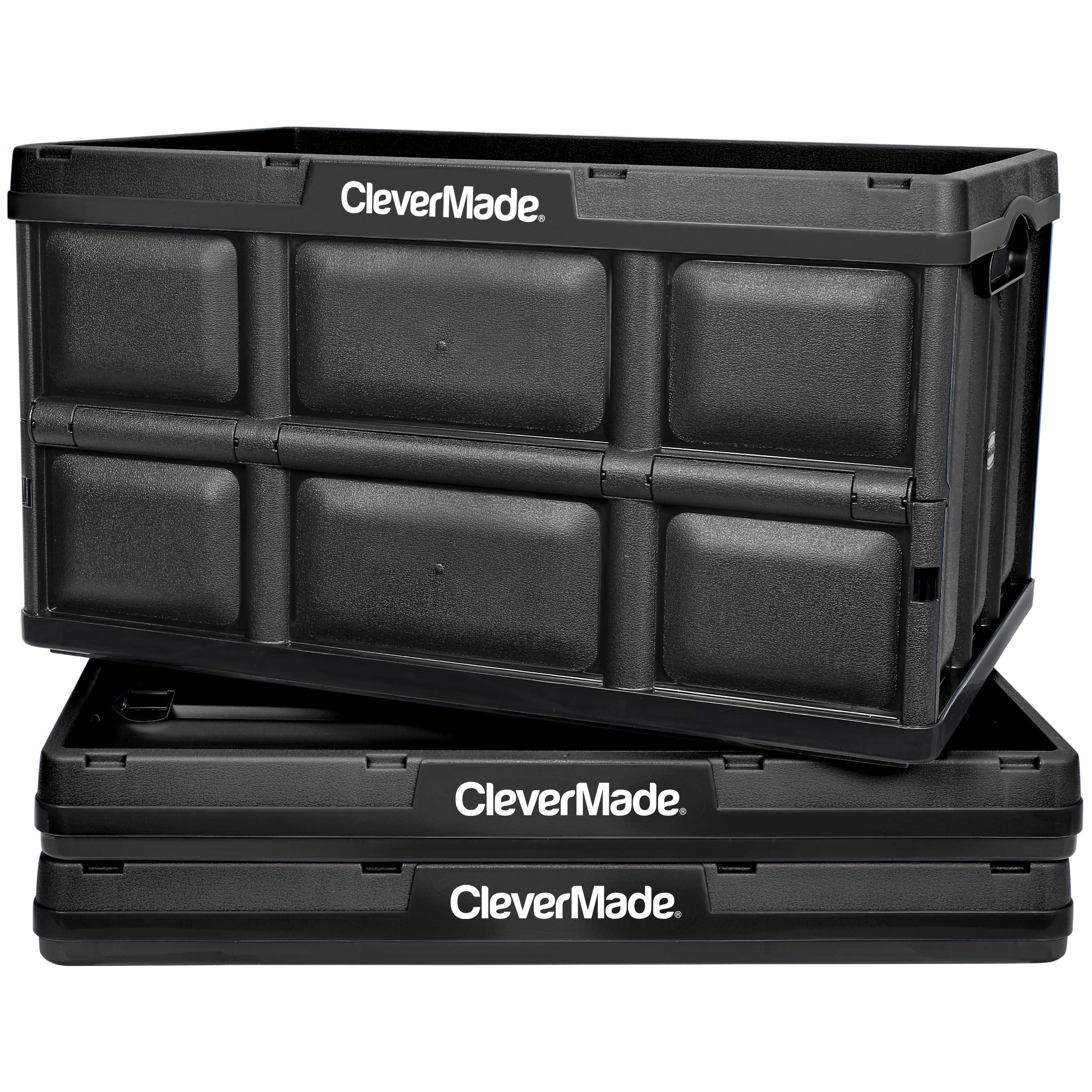 CleverMade 62L Collapsible Storage Bins