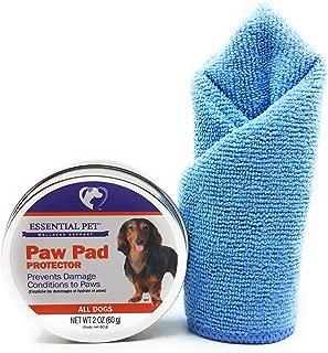 21st Century Essential Pet Paw Pad Protector, 2oz and Tesadorz Microfiber Towel