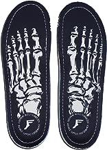 Footprint Insole Technology Kingfoam Orthotic Insoles Skeleton Black 9/9.5