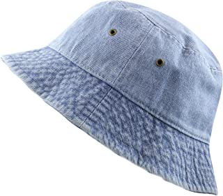 real friends denim hat