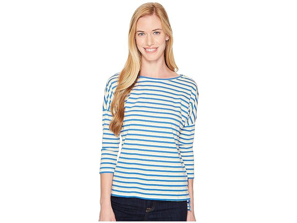 Columbia Harborside 3/4 Sleeve Shirt (Sunlit Stripe) Women
