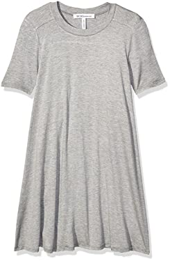 BCBGeneration Women's A-line Dress, Heather Grey, XX-Small