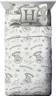 Jay Franco Harry Potter Spellbound 3 Piece Twin Sheet Set, Gray