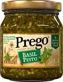 Prego Italian Sauce, Basil Pesto, 8 oz
