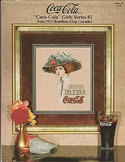 Pegasus Originals Cross Stitch Leaflet 371 Coca-Cola Girls Series #2
