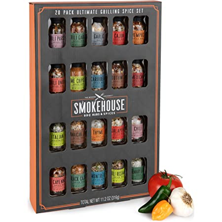 Set smoke flavours for Barbecue BBQ Rosemary Laurel Sage Grill-mania