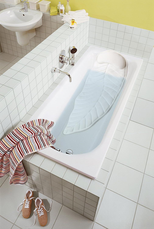 Ganzkörper Spa Badekissen Kissen, Badewannenkissen Matratze mit 20 großen,  rutschfesten Saugnäpfen, Komfort Kopfstütze und Rücken  und  Steißbeinstütze, ...