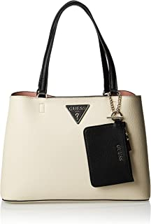 GUESS Womens Girlfriend Carryall Bag, Stone Multi - VG743910