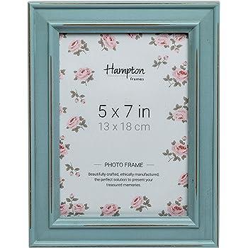 Hampton Frames Marco de Fotos Cuadrado 13x13cm 5x5 Azul