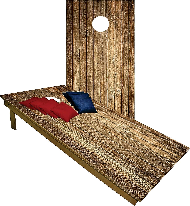 BackYardGamesUSA Handmade Premium Fashion Outlet SALE Wooden Cornhole Board Wo - Set