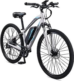 Schwinn Sycamore 350 Watt hub-Drive, Mountain/Hybrid, Electric Bicycle, 8 speeds, Wheel Size Womens Size