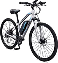 Schwinn Sycamore 350 Watt hub-Drive, Mountain/Hybrid, Electric Bicycle, 8 speeds, Wheel Size Womens Size
