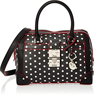 GUESS Women's Satchel Handbag, Polka Dot - PD746606