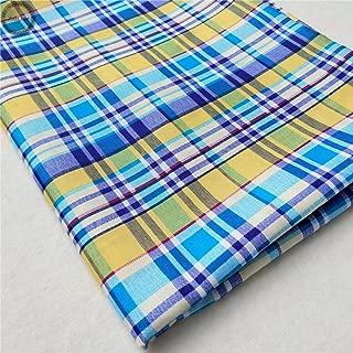 ZAIONE Plaid Checks Lattice Printed Fabric by The Yard Width 58