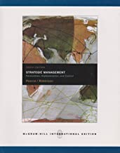 Strategic Management Formulation, Implementation and Control