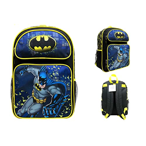 d055c48fa64 Batman Large Backpack School Bag 16