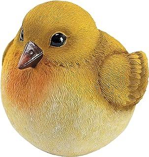 Design Toscano QM25972002 Yellow Warbler Burly Bird Statue