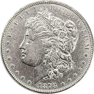 1878 P 7TF Morgan Silver Dollar $1 AU