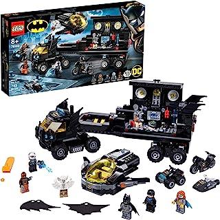 LEGO DC Mobile Bat Base 76160 Batman Building Toy, Gotham City Batcave Playset and Action Minifigures, Great 'Build Your O...